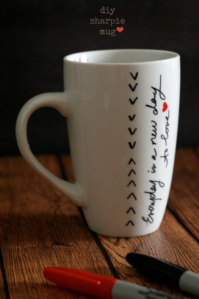 The Best of this Life   DIY Sharpie Mug