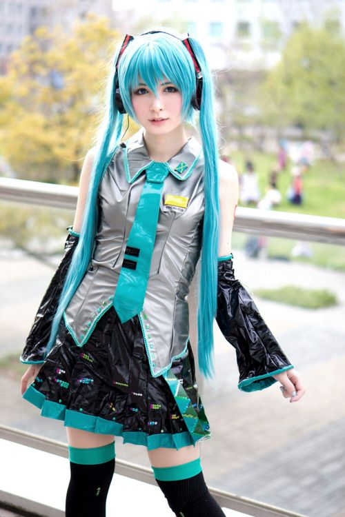 hatsune miku cosplay - photo #6