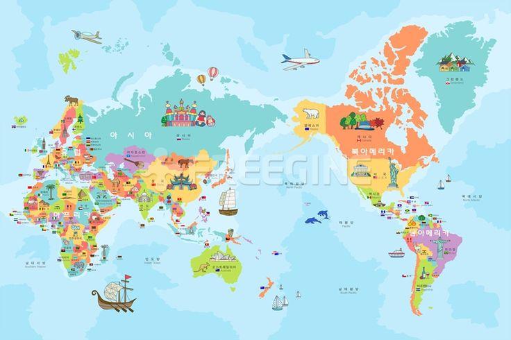어린이, 배경, 백그라운드, 여행, 해외, 세계, 세계지도, 지도, 글로벌, 일러스트, freegine, illust, 국기, 맵, 외국, 월드, 에프지아이, FGI, ILL113, ILL113_003, 세계지도003 #유토이미지 #프리진 #utoimage #freegine 17876053