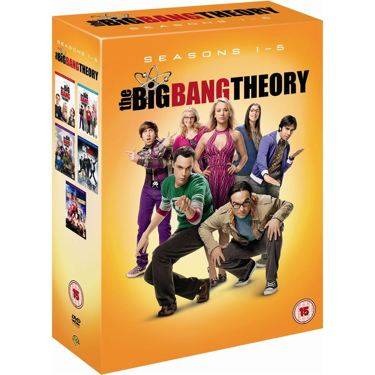Play.com - Buy The Big Bang Theory: Season 1 - 5 Box Set (16 Discs) online at Play.com and read reviews. Free delivery to UK and Europe!