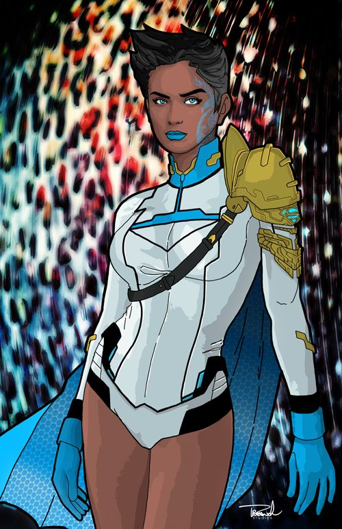 Have to admit, that's a great look. We should see more of this character. - Earth-20 Power Girl by tsbranch on deviantART