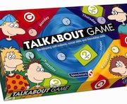 Talkabout Board Game  The Talkabout board game is a journey through the week where a player will encounter a number of different social skills tasks that need to be completed in order to get to the end of the week.