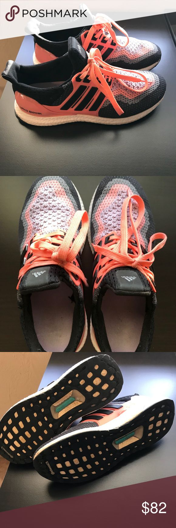 Adidas Ultra Boost Women's size 7. Gently worn no flaws. Originally 200$ adidas Shoes