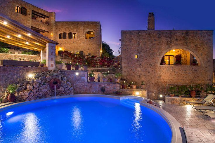 Samonas Traditional Villas, Chania on the island of Crete
