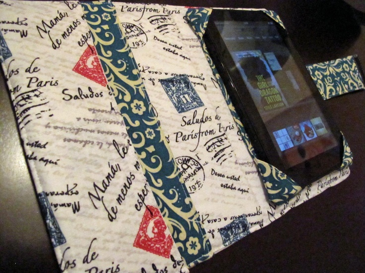 .Crafty Capable.: Kindle Fire Cover Tutorial. I'm pretty proud of this.