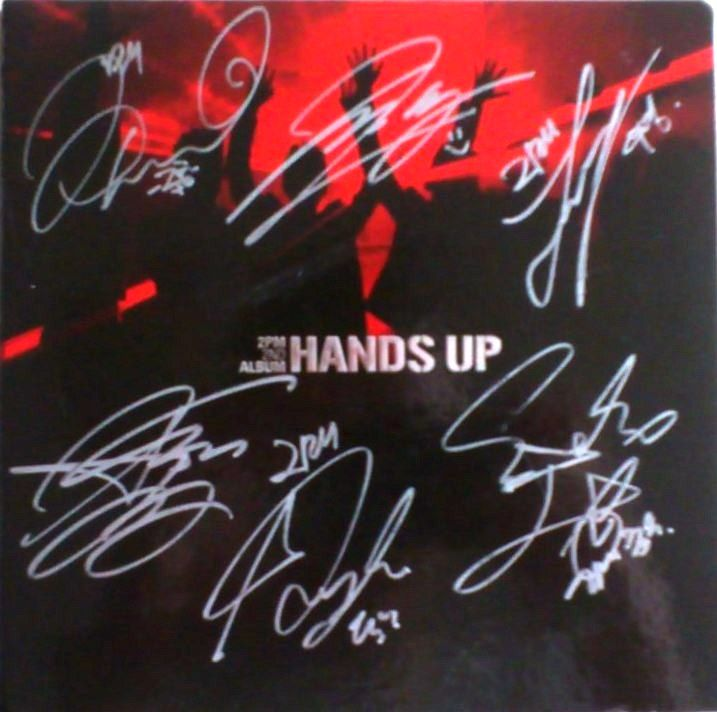 2PM - Hands Up (Signed)