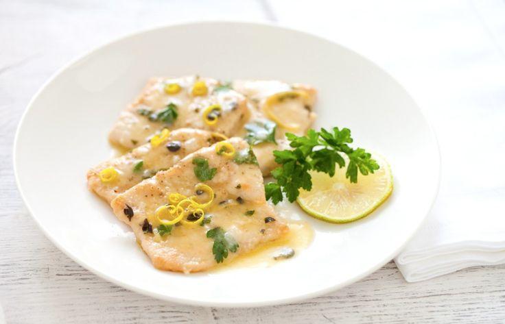 scaloppine di tacchino al limone ricetta