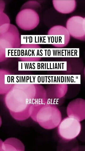 Rachel Berry quote