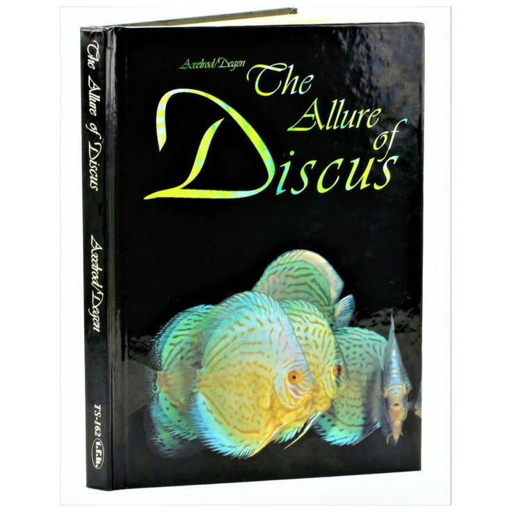 THE ALLURE OF DISCUS BOOK BY AXLEROD DEGEN TROPICAL FISH KEEPING FACTS INFO HELP