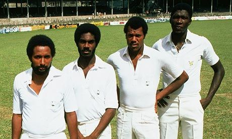 Andy Roberts, Michael Holding, Colin Croft and Joel Garner, 1981. Cricket's finest pace attack, everColin O'Donoghue, West Indie, Sports, Joel Garner, Cricket Finest, Michael Holding, Colin Croft, Andy Robert