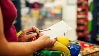 Maak een gezonde boodschappen checklist - FemNa40