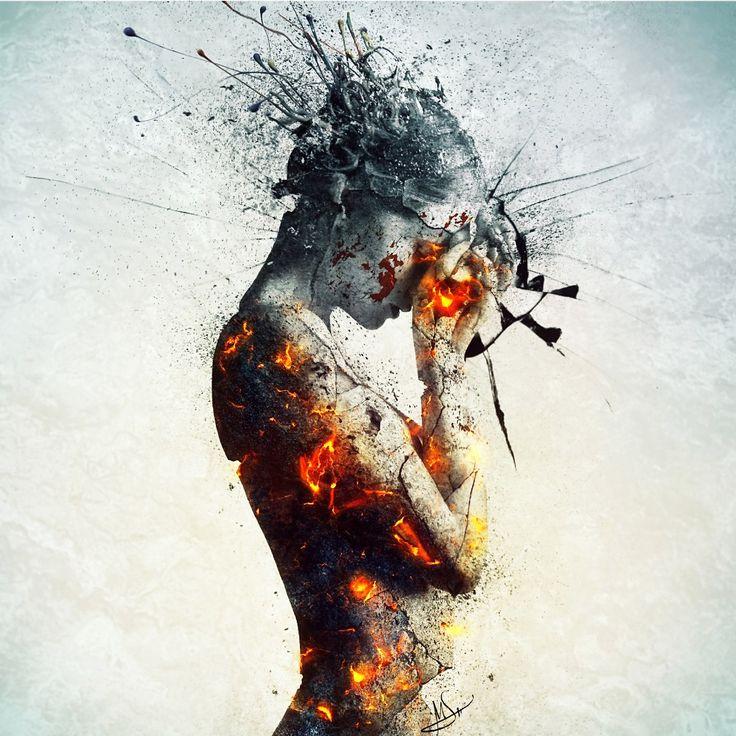 Image result for stressed art