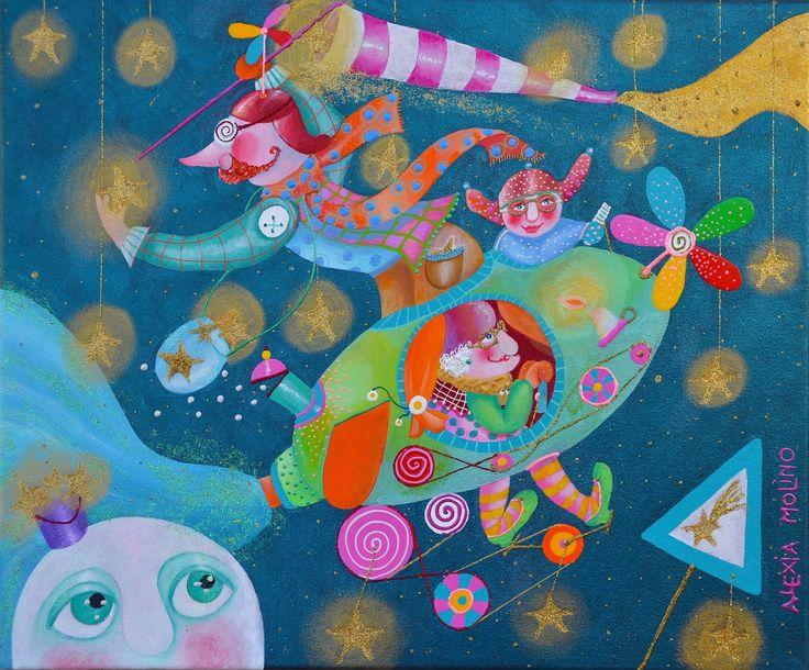 Alexia Molino - Il cacciatore di stelle (38x46)