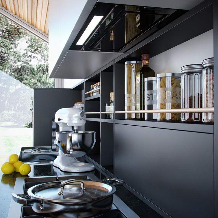 Archimania: Dyskretny sprzymierzeniec w Twojej kuchni – okap do zabudowy Loteo Plus