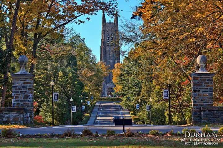 Duke University --- the Harvard of the south ( my alma mater )!