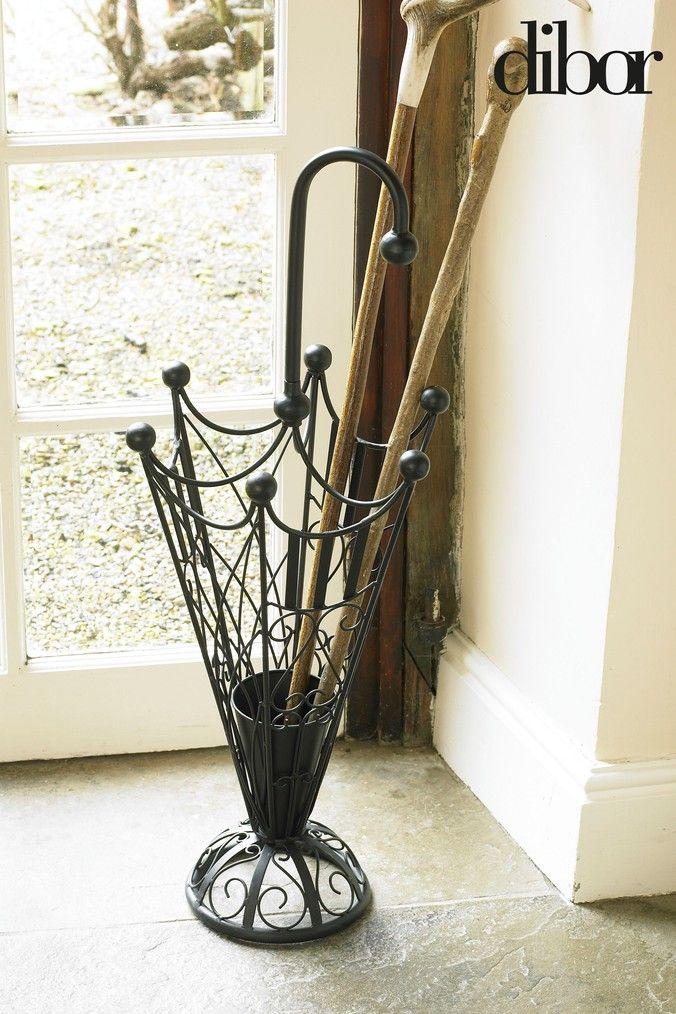 Black Iron Umbrella Stand By Dibor Black In 2020 Decor Home