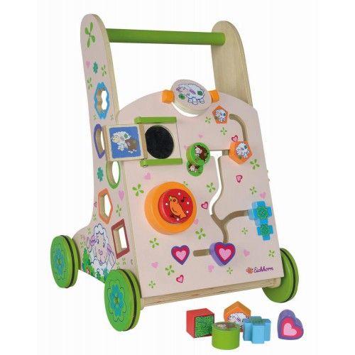 Eichhorn Lauflernwagen Schaf - Spiel- & Lauflernwagen - Kleinkindspielzeug - Spielzeug