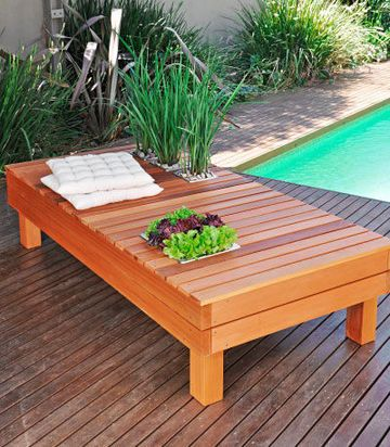 Instructions to build outdoor benches