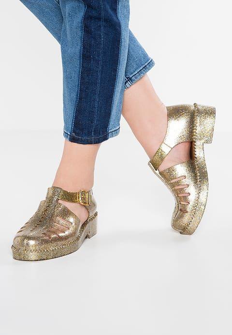 Schoenen Melissa ARANHA - Instappers - gold glitter goudkleurig: € 79,95 Bij Zalando (op 20-2-17). Gratis bezorging & retournering, snelle levering en veilig betalen!