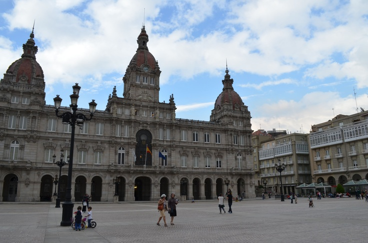 Maria Pita Palace - La Coruna, Spain