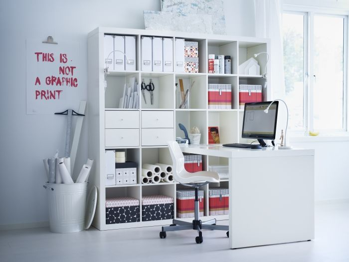 Mejores 62 im genes de espacios de trabajo en pinterest for Oficinas ikea madrid