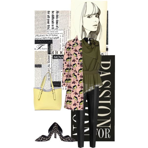 Pbls by rodriguezlacaro on Polyvore featuring polyvore, fashion, style, No-Nà, Miu Miu, Karl Lagerfeld and Nine West