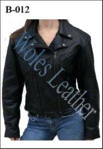 Model Jaket Kulit Wanita; Kode: B-012