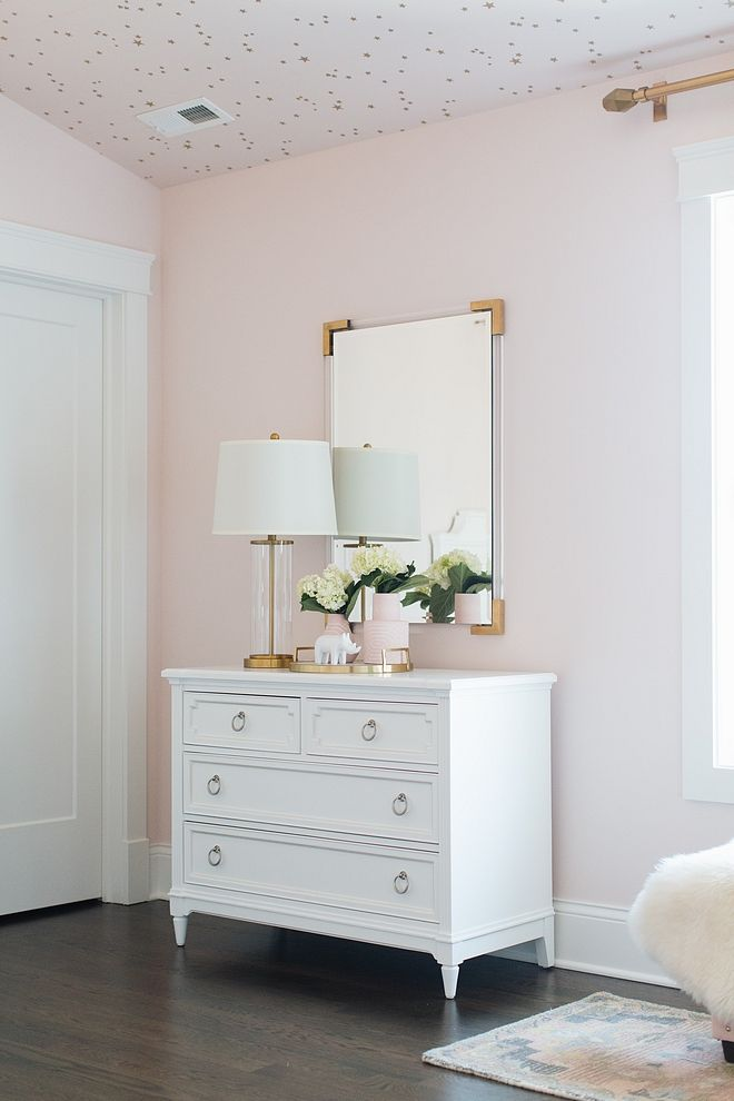 Blush Paint Color Wild Aster By Benjamin Moore Home In