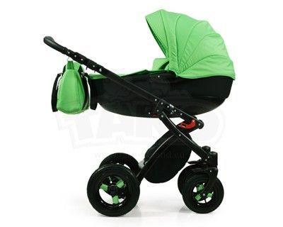 TAKO Alive Universālie rati 2in1 (zaļa krāsa) (3) / 2 vienā rati / MiniKid.lv