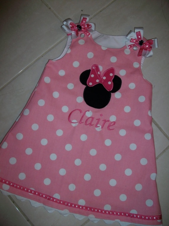 Polka dot Minnie Mouse Party dress