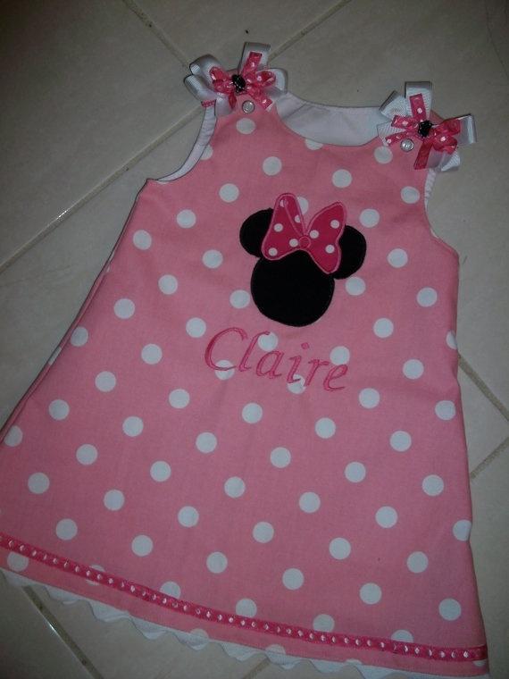 Polka dot Minnie Mouse Party dress