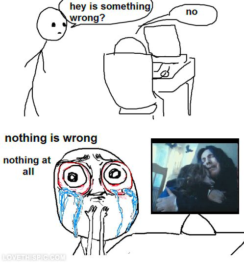 Nothing is wrong. Nothing at all funny memes harry potter lol funny quote funny quotes hilarious humor humor quotes funny pictures snape severius snape deathly hallows potter