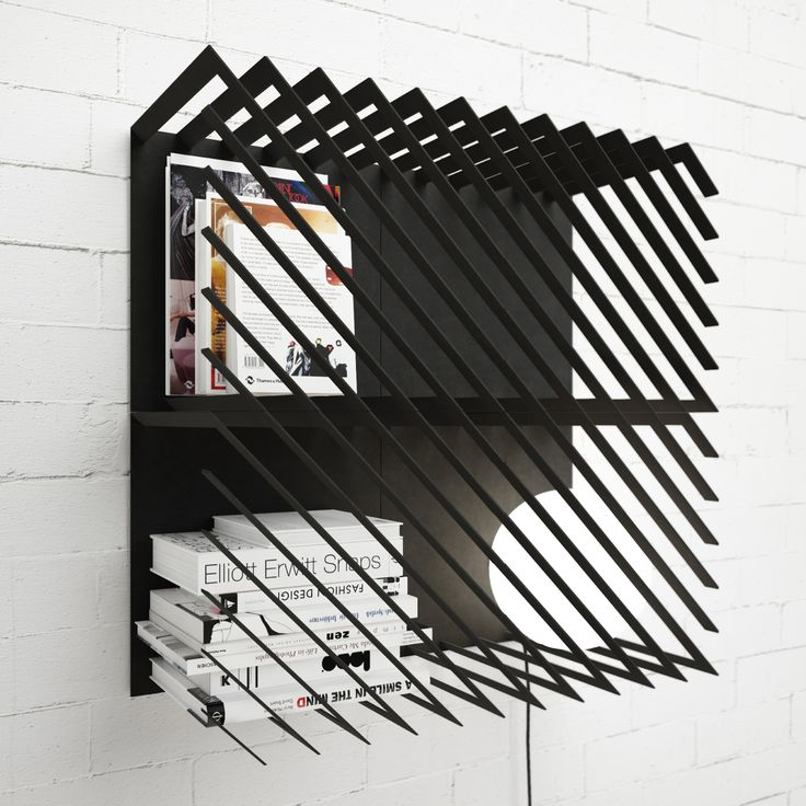 Ukrainian Designer Max Voytenko, Working At Line Studio, Has Made The  Completely Modular Bookshelf U201cHashu201d. It Allows To Store Your Books Behind  Stee