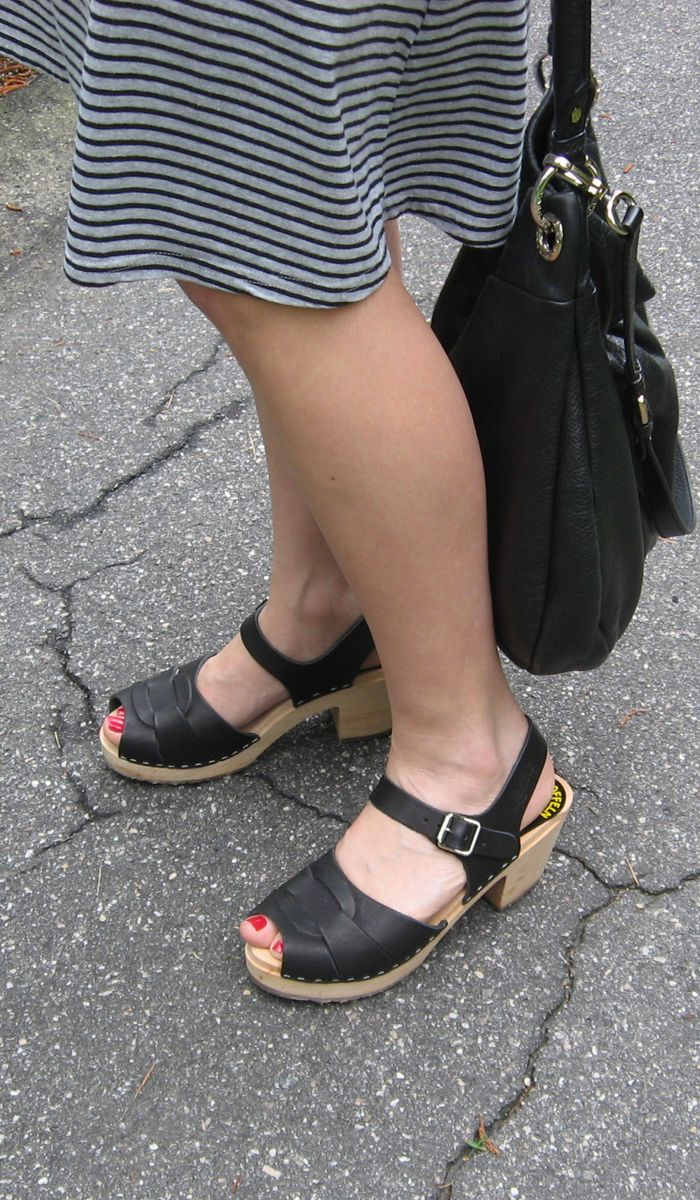 Looks Good from the Back: Adrien: Lotta From Stockholm Clog Sandal Review