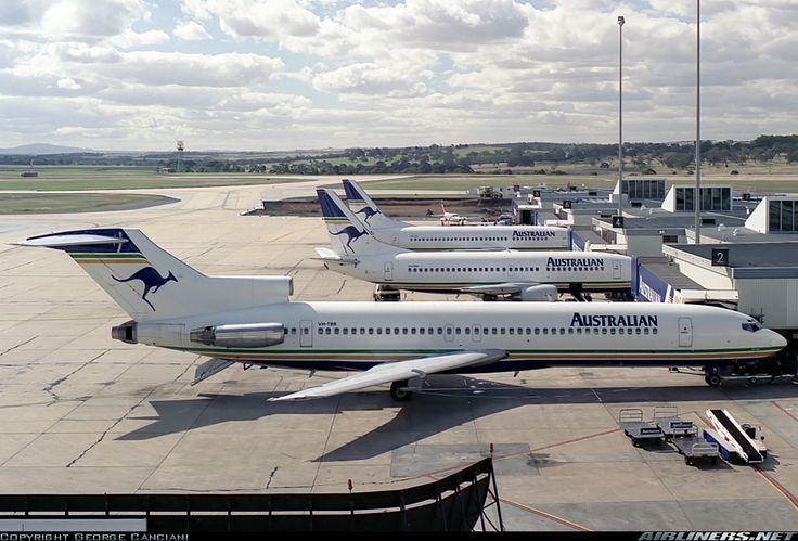 Australian Airlines Boeing 727-276 (VH-TBR)