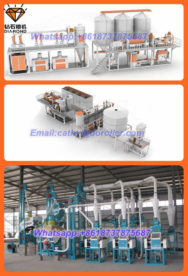 100 ton wheat flour milling machine made in China