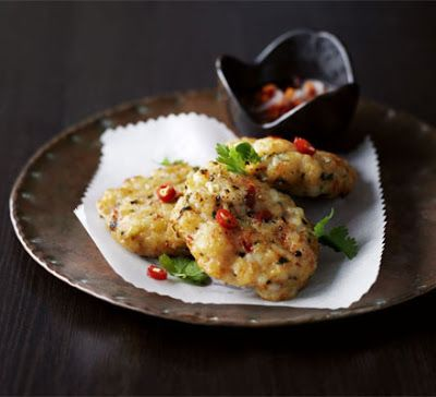 The Little Things in Life...: Thai Prawn Fishcakes with Sticky Chilli Sauce!