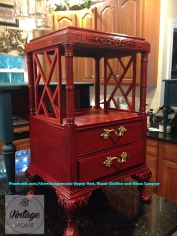 Good Paint Couture The Collection Facebook.com/thevintagemoxie Gypsy Red,  Lacquer, Embossing Medium. Raleigh North CarolinaGlazeThe ...