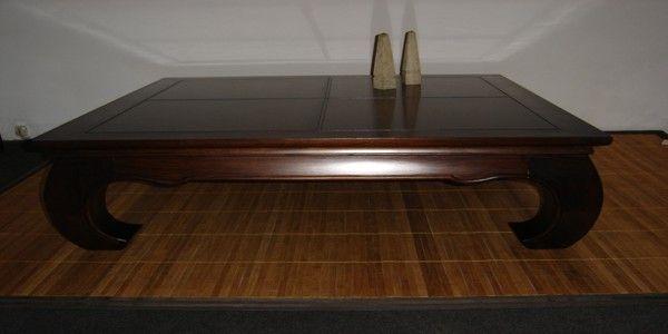 mesa de madera de cedro