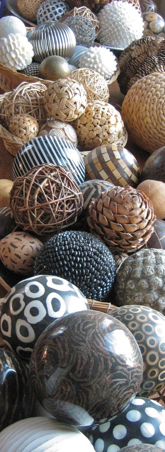 Decorative Woven Balls 171 Best Decorative Balls Images On Pinterest  Balls Bricolage