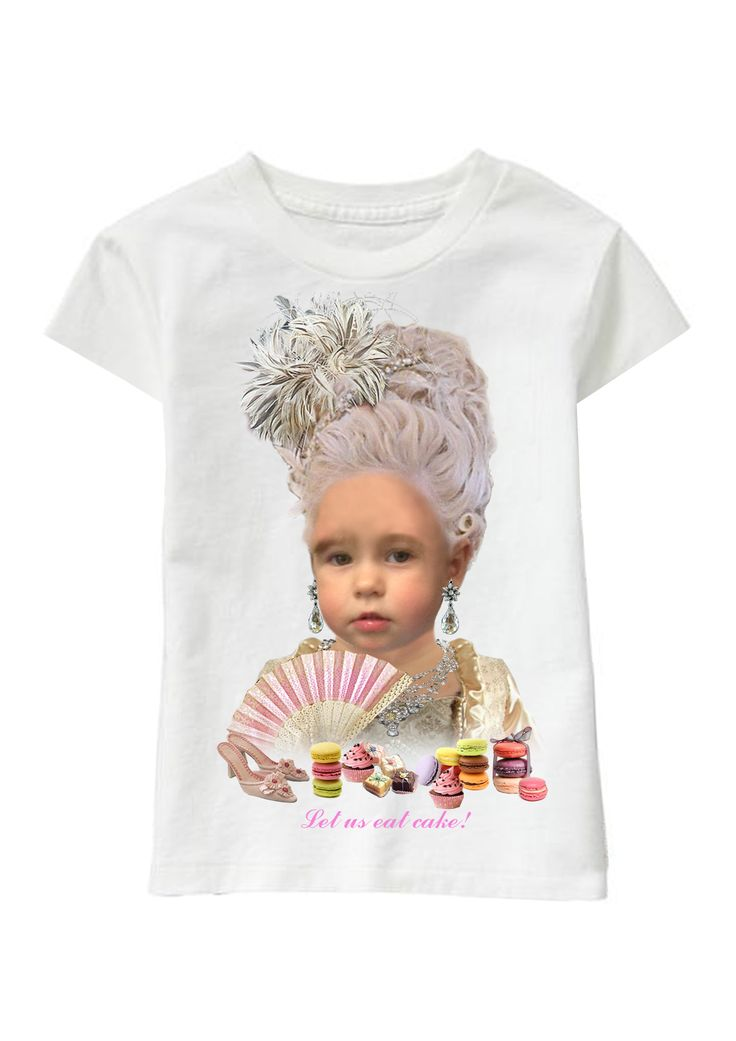 Let Us Eat Cake! personalized T-shirt www.ghigostyle.com
