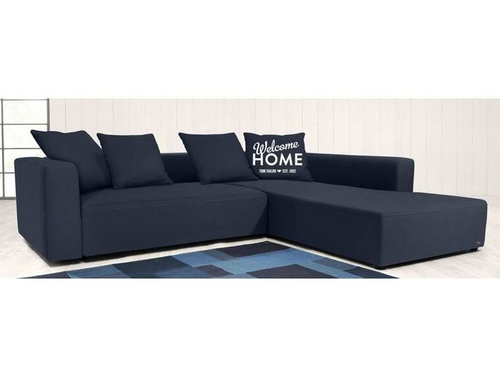 Tom Tailor Eck Couch Heaven Casual M Blau Komfortabler Federkern Sectional Sofa Outdoor Sectional Couch