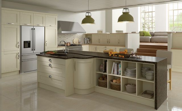 Madison Ivory Fitted Kitchen