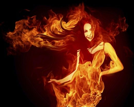 Fire Dance Girl
