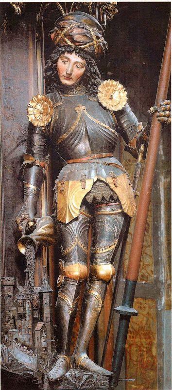 St. Florian, german armour, ~1470