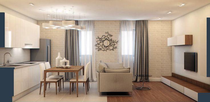 Уютная двухэтажная квартира в Подмосковье для молодой семьи с детьми