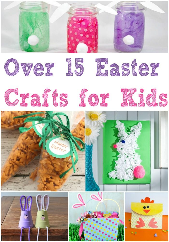 15 easy easter crafts for kids crafts activities and for Easter crafts for elementary students