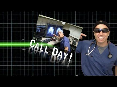 """""""Call Day"""" - Rebecca Black parody- A parody of what I thought was already a parody. http://ZDoggMD.com Written, recorded, and performed by ZDoggMD and Dr. Harry. Starring Dr. Diego as The Intern. Video editing by ZDoggMD. Original song """"Friday"""" by Rebecca Black and Ark Music Factory. Lyrics for Call Day and more at: http://zdoggmd.com/call-day/ Dedicated to all the doctors ..."""