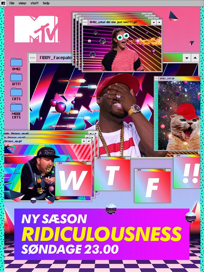 """MTV """"WTF"""" Ridiculousness Tune in Campaign on Behance"""