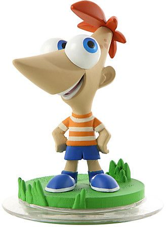 Phineas Hook up with Phineas for fast and innovative moves with his Tuck 'n' Roll and Baseball Shooter. The action and excitement are as endless as summer. The question is - how inventive are YOU? A Disney Infinity game figure.